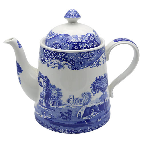 Spode Italian Pattern Coffeepot