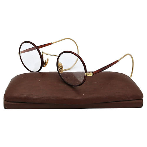 English Round Spectacles