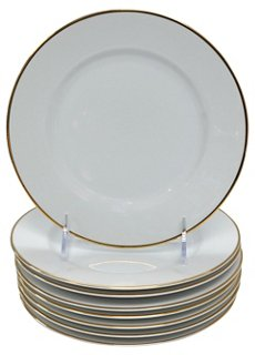 Tiffany u0026 Co. Dessert Plates S/8 - Dessert Plates - Plates - Dinnerware - Tabletop - Decor u0026 Entertaining | One Kings Lane  sc 1 st  One Kings Lane & Tiffany u0026 Co. Dessert Plates S/8 - Dessert Plates - Plates ...