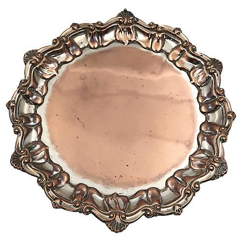 Sheffield Silver-Plate & Copper Tray