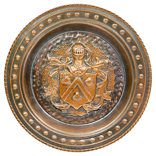 Armorial Coat of Arms Wall Plate