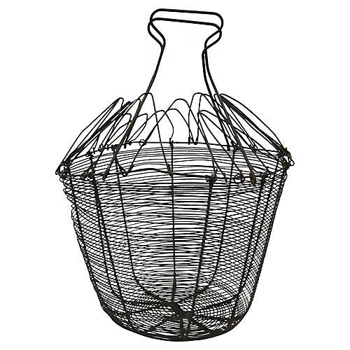 Oversized French Market Produce Basket