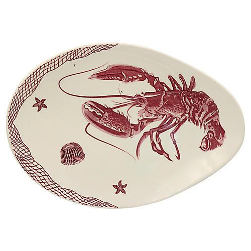 Mid-Century English Lobster Platter