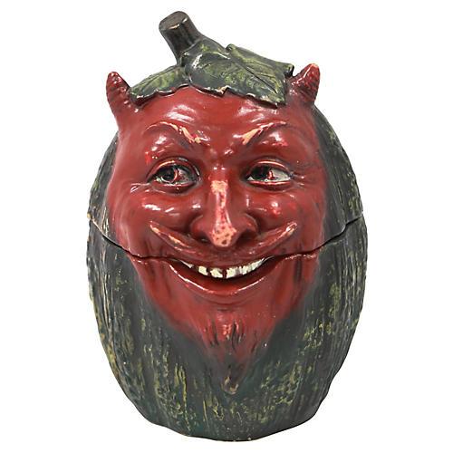 Johann Maresch Devil Melon Tobacco Jar