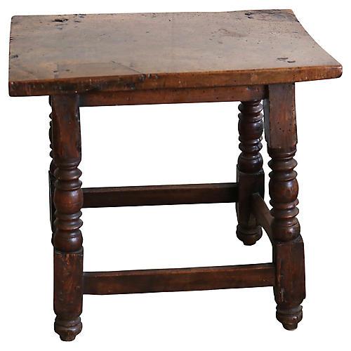 17th-C. Handmade English Pub Table