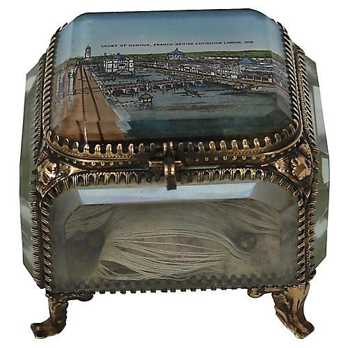 1908 London Souviner Jewelry Box