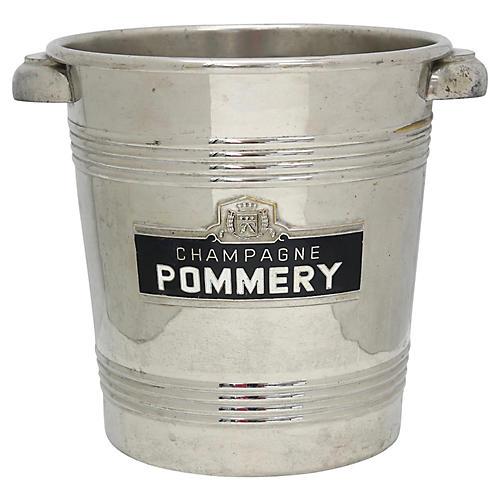 Pommery Enameled Champagne Ice Bucket