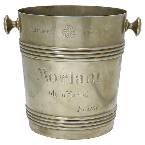 Christofle Advertising Champagne Bucket
