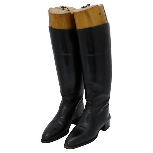 Antique English Riding Boots, Pair