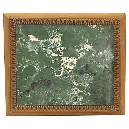Mid-Century French Marble Trivet