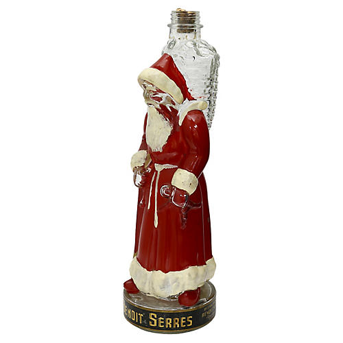 1950s French Father Christmas Decanter