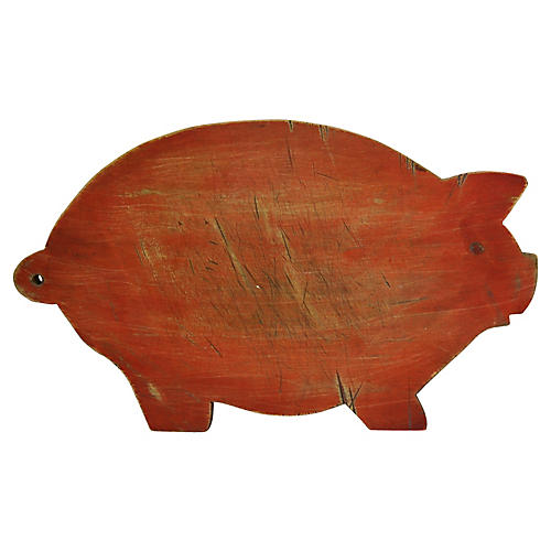 French Pig Chopping Board
