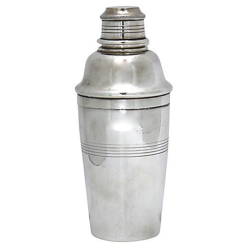 Art Deco Elkington Cocktail Shaker