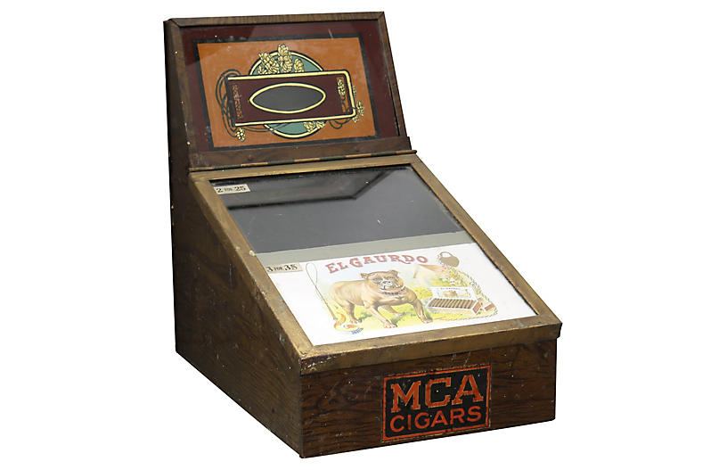 Cigar Shop Humidor/Cigar Box Display