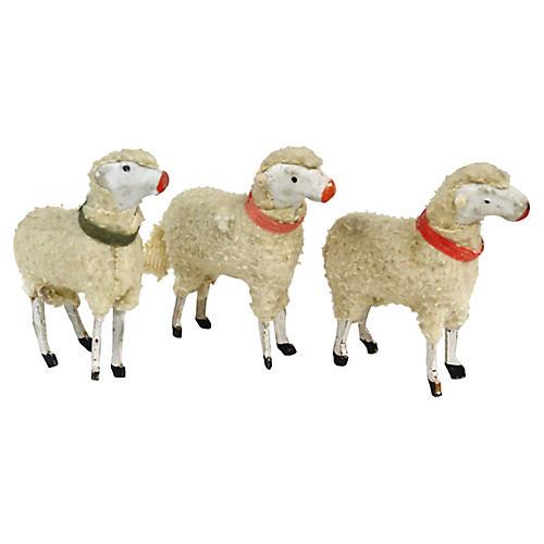 1940s Stick-Leg Sheep, S/3