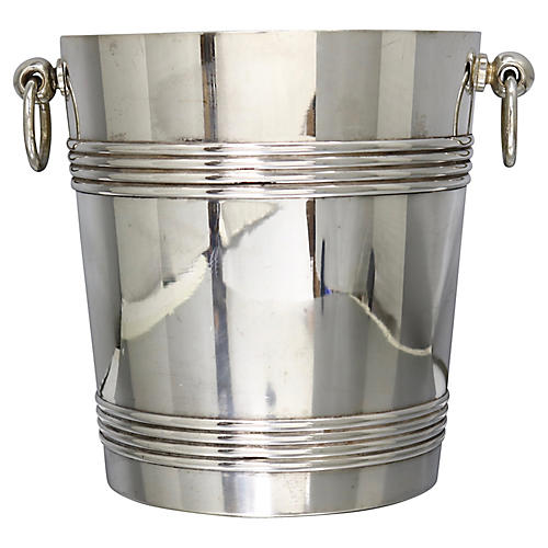 French Christofle Champagne Bucket