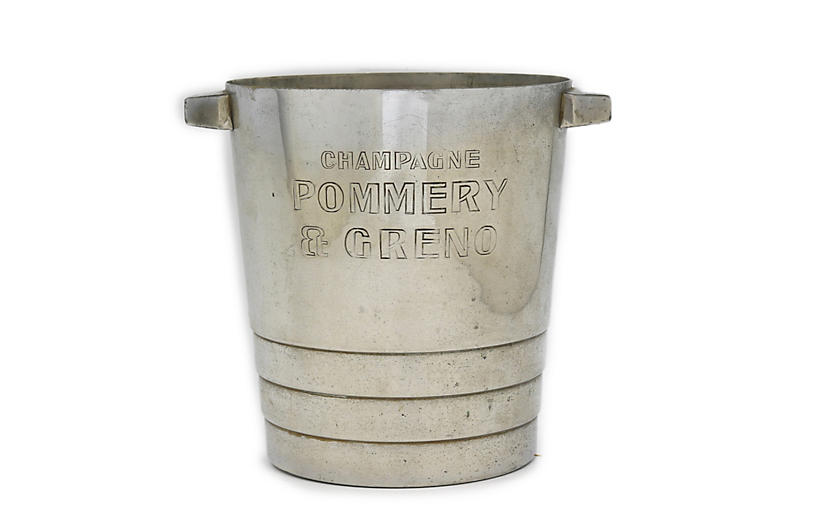 Christofle for Pommery Champagne Bucket