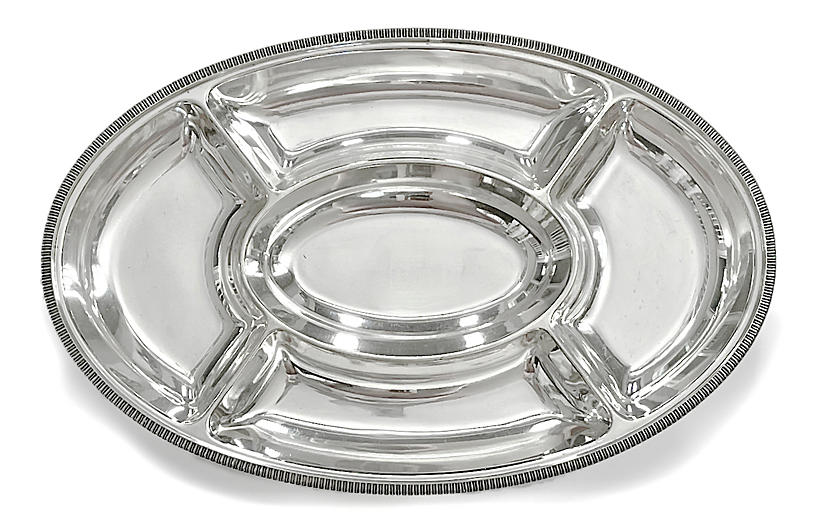 Midcentury Mappin & Webb Serving Tray