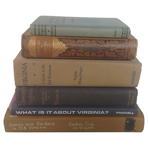 State of Virginia Book Collection, S/6