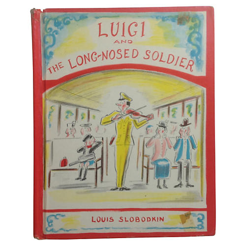 Luigi and the Long-Nosed Soldier