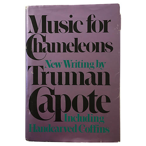 Music for Chameleons, 1980 First Edition