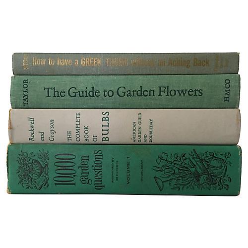 Garden Book Stack, S/4