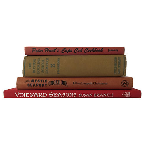 New England Cook Books, S/4