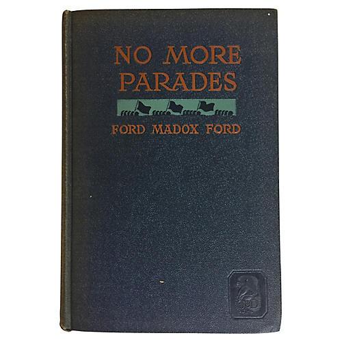 No More Parades, Ford Madox Ford