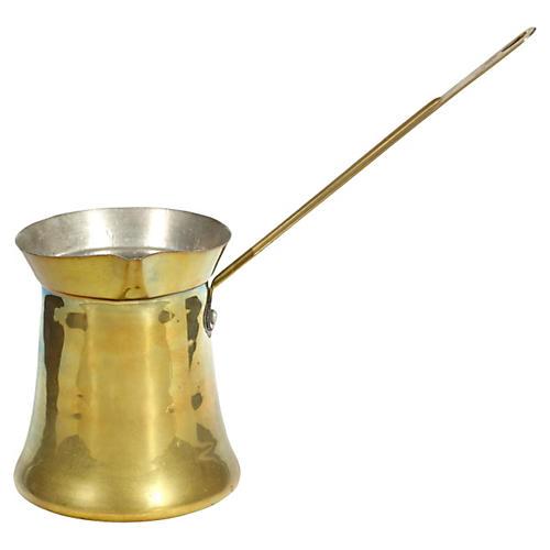 Moroccan-Style Gilt Metal Pourer