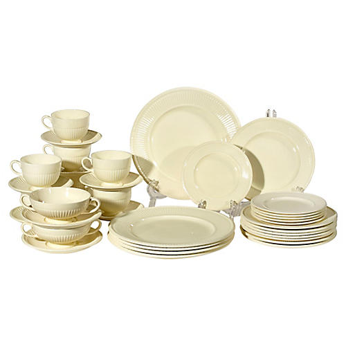 Wedgwood Dinnerware Set, 37-Pcs