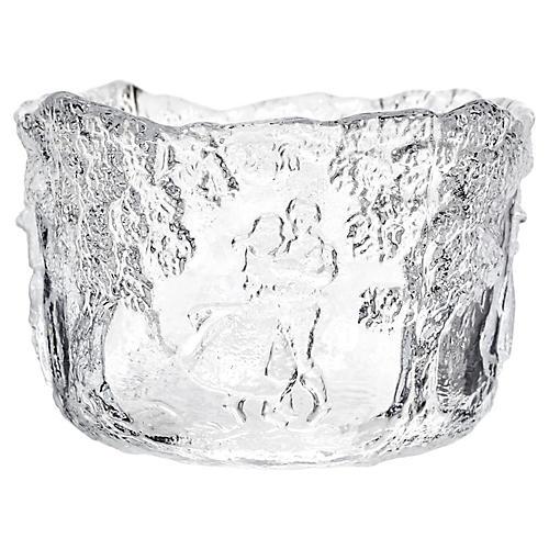 Kosta Boda Glass Scenic Bowl