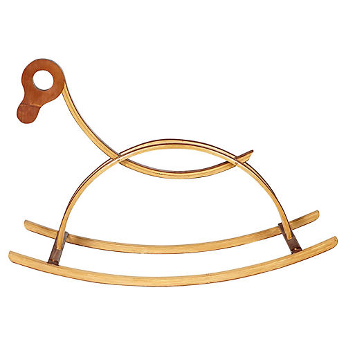 Bentwood Child's Rocking Horse