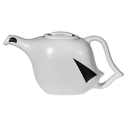 Ceramic Modern Handled Teapot