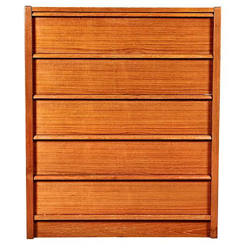1970s Danish Teak Dresser