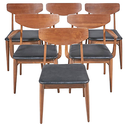 Stanley Furniture Dining Chairs, S/6