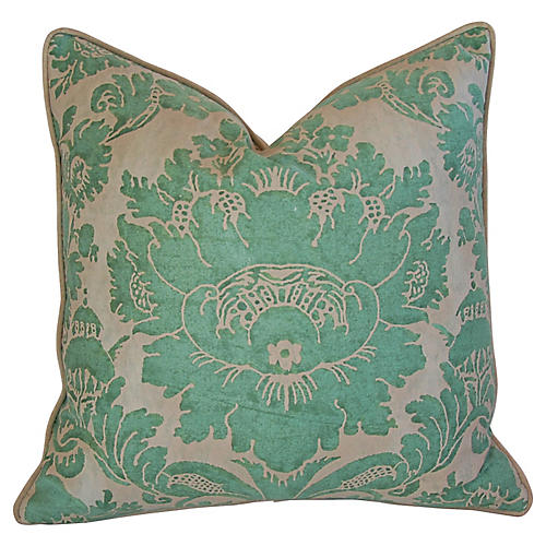 Italian Mariano Fortuny Vivaldi Pillow