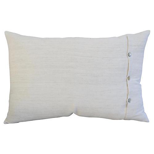 Homespun Belgian Linen Pillow