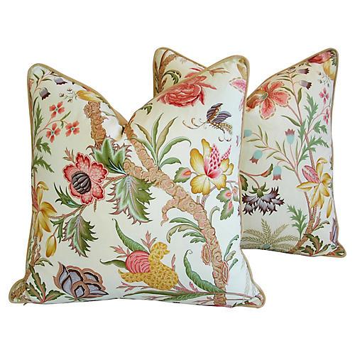 Cowtan Tout Arabella Floral Pillows, Pr