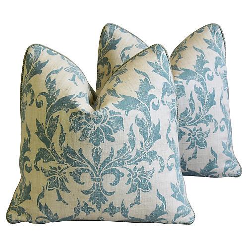 Pintura Studios Hand-Printed Pillows, Pr