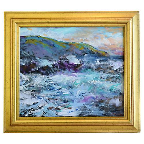 Juan Guzman California Ocean Painting
