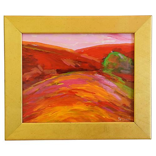 Juan Guzman, Carmel Landscape Painting