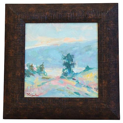 Paul Casebeer Pastel Landscape Painting