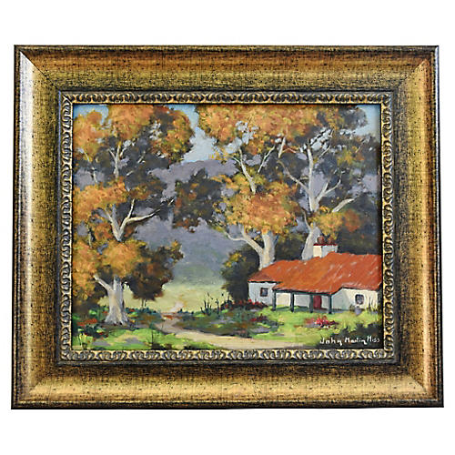 John Martin Hiss, Landscape Painting