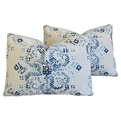 Villa Nova Marit Linen Pillows, Pair