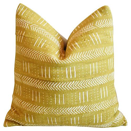 Malian Gold & Cream Pillow