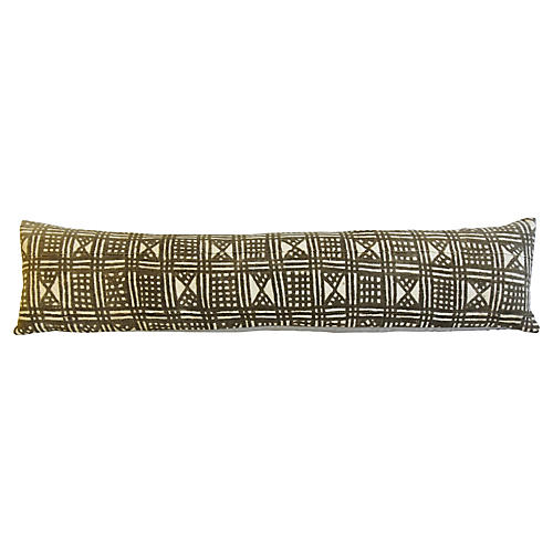African Mud-Cloth Body Pillow