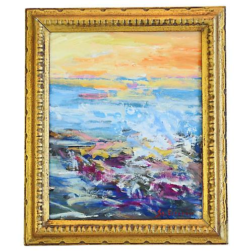 Ventura Seascape by Juan Guzman