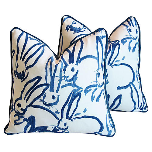 Groundworks Bunny Hutch Pillows, Pair