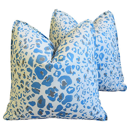 Pindler Animal Spot & Velvet Pillows, Pr