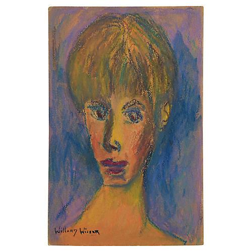 1960s Portrait by Willard Wiener